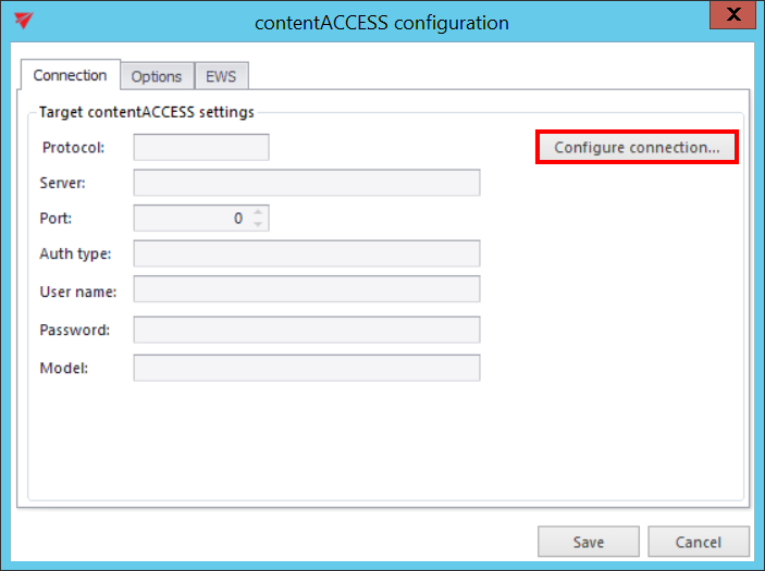 contentGATE migration of MS Outlook PST files to