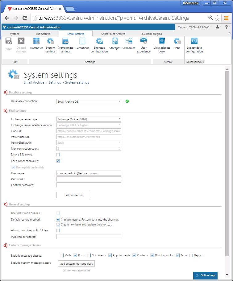 contentACCESS documentation – version 3 1 | TECH-ARROW