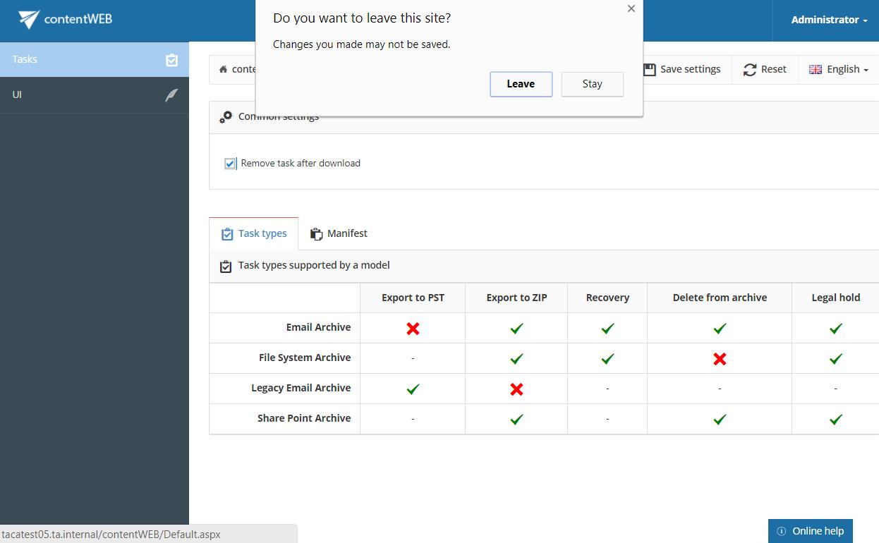 contentWEB documentation – version 3 5 | TECH-ARROW