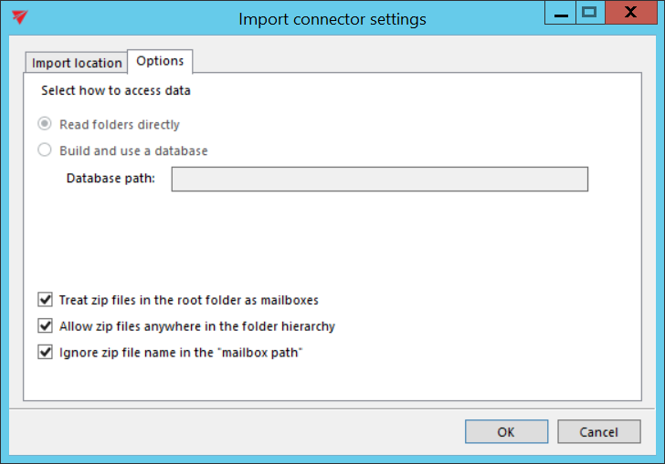 Migrating emails (from files) to contentACCESS Email archive with