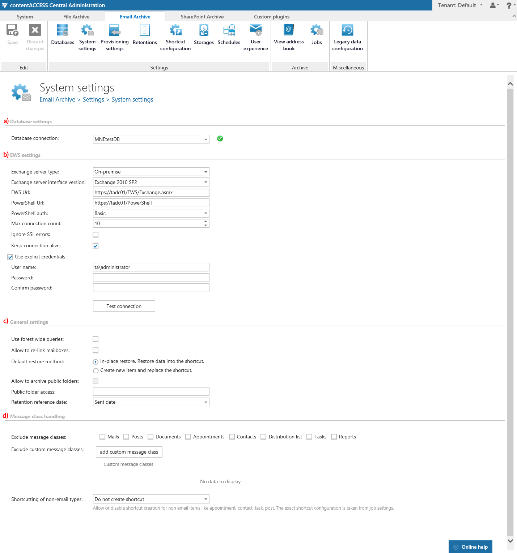 contentACCESS documentation – version 3 6 | TECH-ARROW