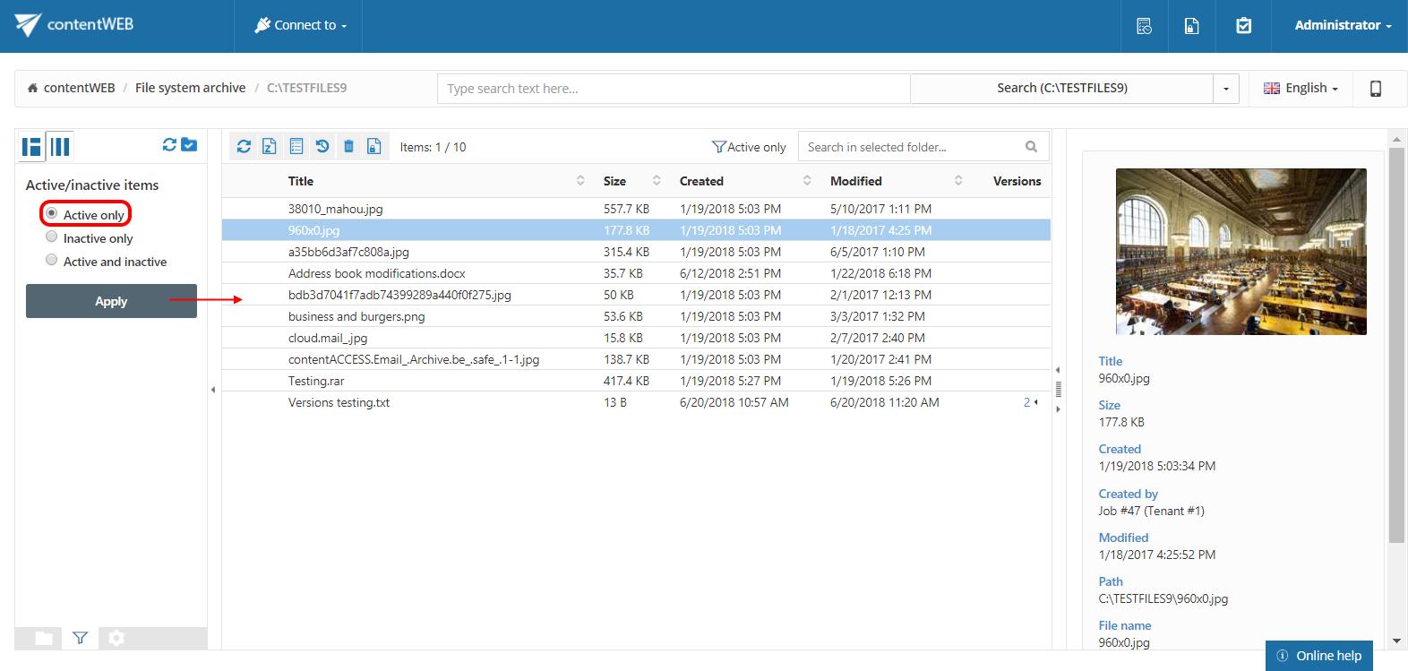 contentWEB documentation – version 3 7   TECH-ARROW Documentation Center